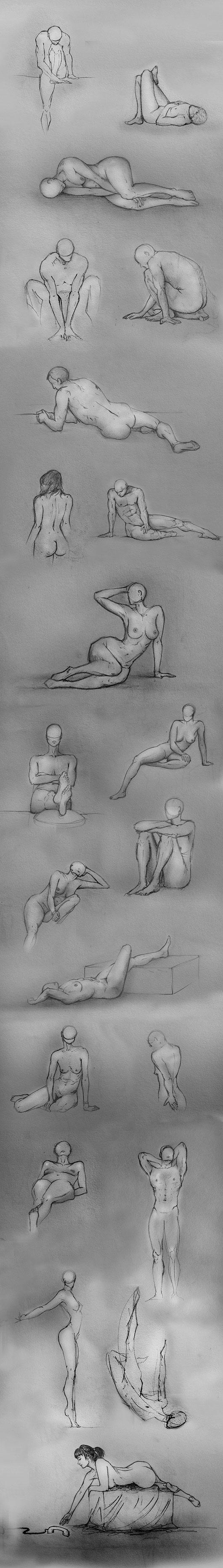 Pencil Illustrations