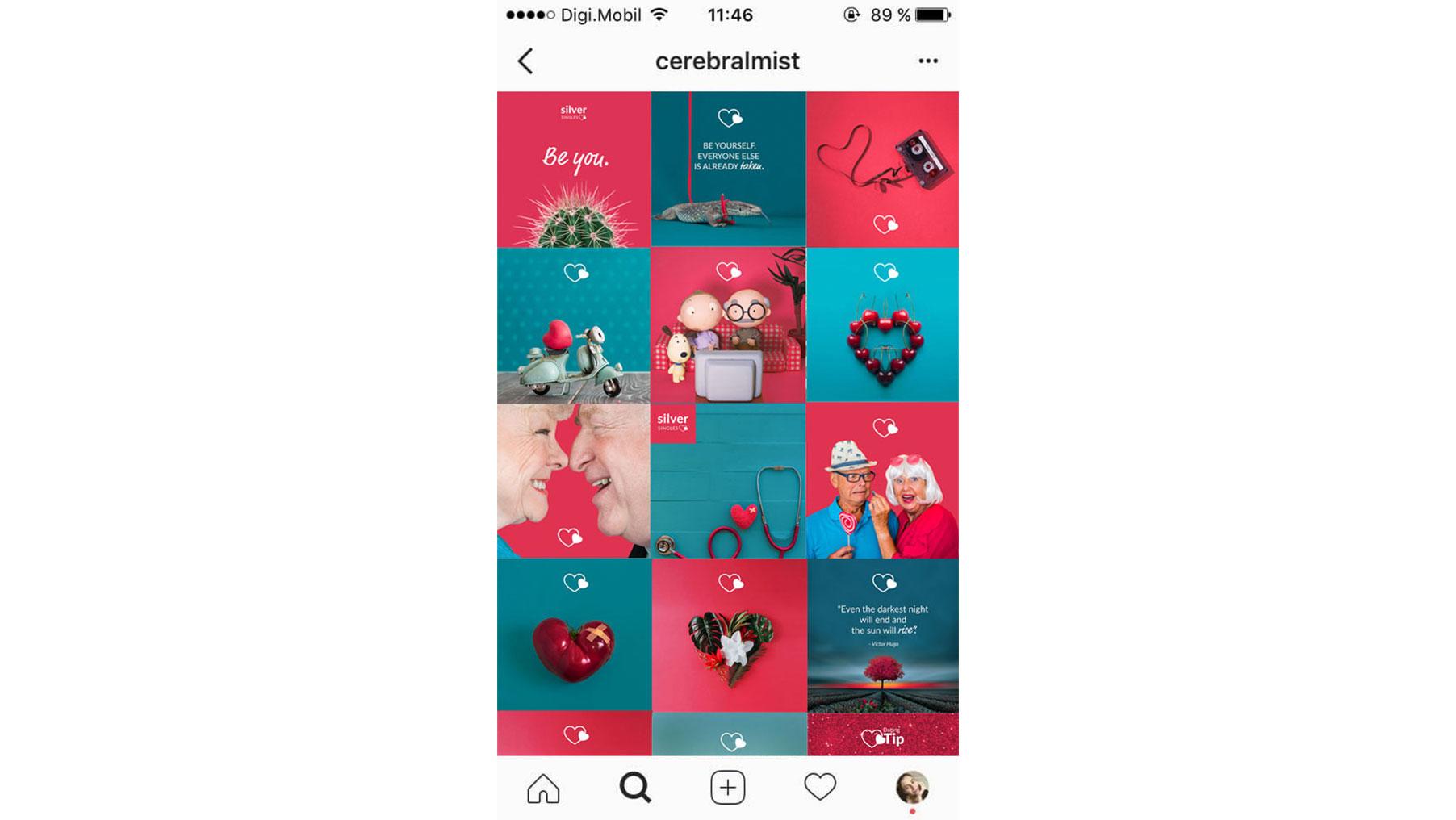 Silver Singles Social Media Assets